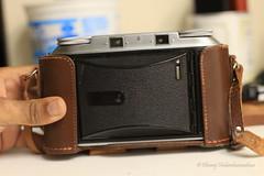What's this!? Two viewfinders? A 3D camera? (dheeruparu) Tags: voigtlander bessa ii 6x9 medium format film color skopar 105mm 35 range finder