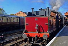 LMS 'Crab' Bewdley (Luzon Jim) Tags: steamintheuk lms crab tender engine locomotive outdoor indoor nikond5100 heritage railway vehicle trains svr