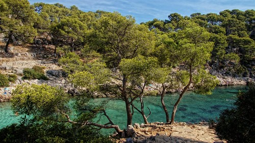 Calanque de Port Pin-Provence-France