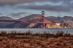 Good Morning San Francisco (AgarwalArun) Tags: sonya7m2 sonyilce7m2 sony sanfrancisco goldengatebridge goldengate bayareacalifornia iconicbridge pacificocean ocean bridge marincounty scenic views landscape reflections fog marinelayer crissyfield