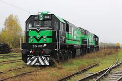 PPD Transport 2044 003 & 005, Zagreb Borongaj (The_2044) Tags: ppd ppdtransport ppd2044 emdgt22hw2 zagrebborongaj zagreb skine emd