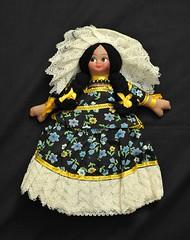 Tehuana Doll Muneca Oaxacan Mexican (Teyacapan) Tags: mexico dolls muneca tehuana tehuantepec vintage oaxaca