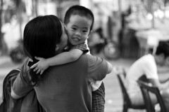 Mong Cai - 2016 (hoangcharlie.photography) Tags: streetphotography street scene portrait photography vietnam mongcai asia 2016 nikon d7100 50mm snap monochrome emotion