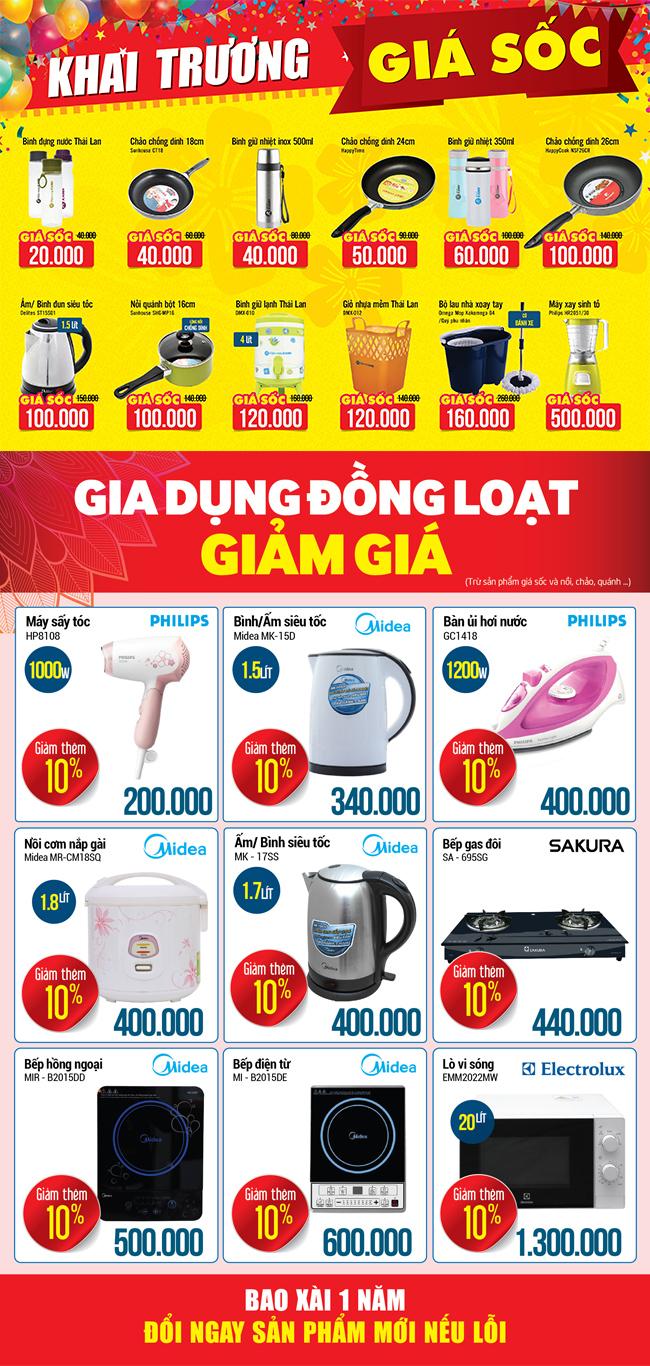 Khai trương siêu thị Điện máy XANH Quốc Oai, Hà Nội