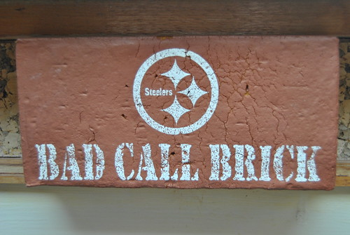 Steelers Bad Call Brick