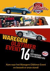 We invite you to visit us at Waregem Oldtimer Event from 2nd until 4th of December.