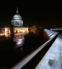 I Heart St. Paul's (Tedz Duran) Tags: tedzduran stpauls cathedral london church england uk unitedkingdom eu europe christopher wren architect architecture building structure dome one change urban rural travel photography night lights nightscape urbanscape sony ilce 7rm2 a7rii tse 24mm reflection heart love