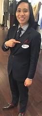 Christina (bof352000) Tags: woman tie necktie suit shirt fashion businesswoman elegance class strict femme cravate costume chemise mode affaire