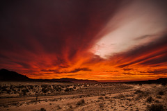 Aus sunset HDR (carlos.aantunes) Tags: hdr sky sunset amazing colors clowds aus namibia africa trip best road red yellow purple dramatic