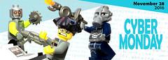 Cyber Monday @ BrickWarriors (BrickWarriors - Ryan) Tags: brickwarriors custom lego minifigure weapons helmets armor deal cyber monday