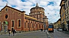 Basilica Santa Maria delle Grazie - Milano (pattyconsumilano) Tags: milano santamariadellegrazie basilica o molto bella