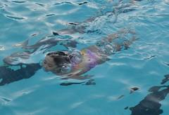 Swim Practice (Nishimgu) Tags: water pool girl swimming swim asian japanese hawaii eyes air bubbles maui