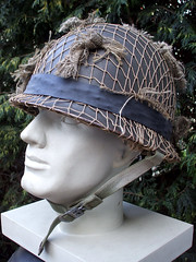 Portuguese M64 with camo net (Barbo333) Tags: history soldier army war uniform museu force
