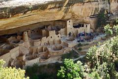 13 1054 - USA, Colorado, Mesa Verde, Cliff Palace (jeanpierreossorio) Tags: usa colorado habitat maison troglodyte indien