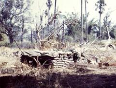 Katum base camp, Dec. 1967 (Bobcat Alpha) Tags: cambodia vietnam bunker basecamp bobcats acompany katum 25thinfantrydivision vietnamwar1968 1stbattalion5thinfantryregiment operationyelloestone