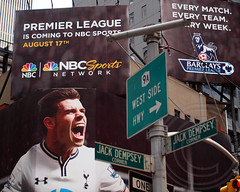 BARCLAYS PREMIER LEAGUE ON NBC SPORTS NETWORK Billboard, Times Square, New York City (jag9889) Tags: england usa newyork english wales nbc spurs football tv teams fussball manhattan live soccer broadway billboard timessquare match coverage barclays calcio premierleague epl 2013 tottenhamhotspurs englishpremierleague nbcsports barclayspremierleague garethbale jag9889 8172013 nbcsportsnetworks