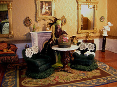 dollhouse1 021 (taraterminiello) Tags: miniatures victorian mansion barbies dollhouse playscale playcale