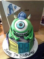 Monsters Inc Cake by Amanda, Harford County, Maryland, www.birthdaycakes4free.com
