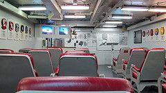 USS Midway - Squadron Ready Room (Al_HikesAZ) Tags: california ca museum harbor san sandiego room aircraft diego ready navypier aircraftcarrier midway uss carrier ussmidway readyroom ussmidwaymuseum alhikesaz sandiego2013