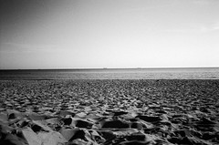 Gdansk seaside (ackercz) Tags: sea blackandwhite bw travelling analog 35mm seaside xpro mju poland velvia ii 100 gdansk sopot gdynia trojmiasto olmypus