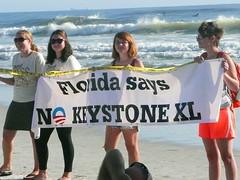 JAX Draws the Line on Sea Level Rise (350.org) Tags: change keystone sands xl climate tar drawtheline 350org 350ppm keystonexl