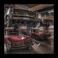 Quad Core (Kemoauc) Tags: nikon garage cave gto hdr showdown musclecar topaz dreamcar photomatix oscw d300s grosheppach kemoauc