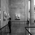 Woman looking at Parthenon Marbles thumbnail