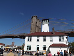 Brooklyn Bridge, Brooklyn Ice Cream Factory, Brooklyn Bridge park, Brooklyn, New York (lensepix) Tags: bridge newyork brooklyn brooklynbridge brooklynbridgepark brooklynicecreamfactory newyorkbridge