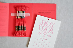 The Year In Stitches Calendar (the workroom) Tags: crossstitch calendar product notions theworkroom heatherlins theyearinstitches embroiderykitnotionsproduct