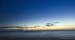 La Gola del Ter i les Medes (Joan Trias) Tags: mar catalonia nocturna catalunya paisatge empordà baixempordà llargaexposició