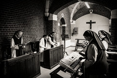 trapp-6.jpg (Joel Leclercq) Tags: religion tele tournage chimay soeurs nonnes trappistines