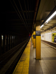 Subway station New York