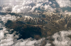 View of Italian Alpes 03 - If you reblog the photo please leave a link to the original! Thanks!!! (Katarina 2353) Tags: travel vacation sky italy mountain alps clouds landscape nikon view aerialview aerial katarinastefanovic katarina2353