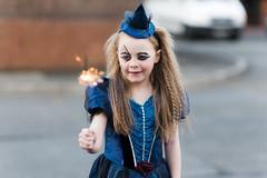 Megan Sparklers (www.purephotoni.com) Tags: halloween witch megan sparklers d800 sigma85mmf14