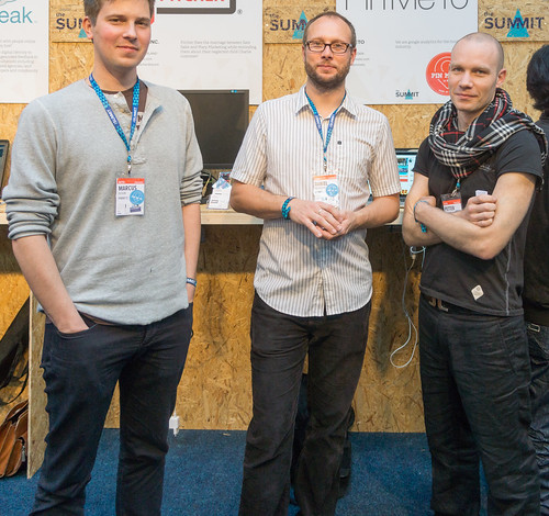 The Team From Pin Me To At The Web Summit