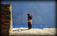 Mother and Child (mala singh) Tags: india lady child mother himalayas himachalpradesh lahaul