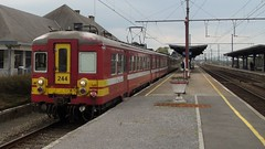 AM 244 - L162 - MARLOIE (philreg2011) Tags: train trein nmbs sncb marloie l162 amclassique l5550 l5587 am244