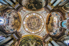 The Saint Nicholas Cathedral from 13th century were Mozart was played in 1787 (Iztok Alf Kurnik) Tags: travel building art history tourism church glass architecture buildings geotagged holidays europe catholic czech prague artistic basilica madonna religion jesus prag praha praga stainedglass tourist sunshade czechrepublic catholicchurch cz baroque virginmary mozart oldtownsquare stnicholaschurch lessertown jesuschrist praguecastle czechart 13thcentury parishchurch artphotography travelphotography historicplaces ncg starmsto baroquearchitecture traveltheworld paintedwindow sunthroughthewindow baroquechurch kostelsvathomikule vrovice saintnicholascathedral czechtourism chrmsvathomikule christophdientzenhofer kilianignazdientzenhofer dominikduka religionsymbols frantiekxaverpalkos iztokkurnikphotographystudio prahaeu churchpaintedglass barokn httpwwwstnicholasczen dientzenhoferssupremeachievement frantiekigncplatzer janlukaskrackers showinmyeyescathedral themostimpressiveexampleofpraguebaroque