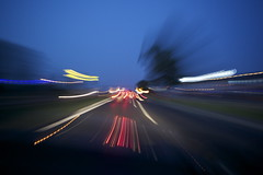 fast (Karolina Woniakowska) Tags: night canon lights town photo fast freeway karolina wozniakowska
