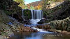 Bissell Damn (Ed Boudreau) Tags: autumn fall water rock landscape waterfall stream massachusetts falls photographyforrecreationeliteclub flickrsfinestimages1 flickrsfinestimages2 flickrsfinestimages3 massachusettslandscapeoldrockbridge westermmassachusetts