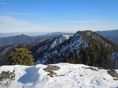 Ridge view from Iron