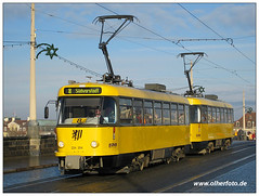 Dresden - Tatra 224 204 (olherfoto) Tags: dresden tram tatra tramcar strasenbahn