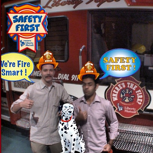 We are firemen!