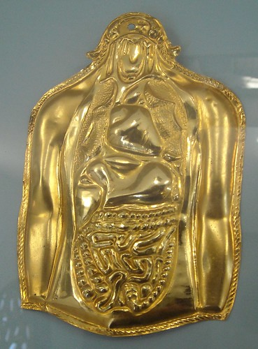 Golden and anatomical votive offering (19th-20th century) - Naples, Castel Nuovo Museum