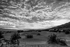 Staci P  Sunrise-162-3 (bruceschuerman) Tags: sky blackandwhite sunrise skyscape landscape nationalpark desert deathvalley hdr