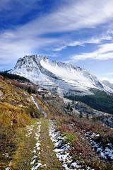 Itxina (Mimadeo) Tags: winter light sky sunlight white mountain snow mountains cold tree ice nature beauty rock pine clouds season lan