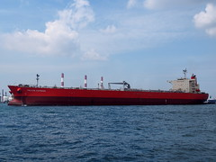 Falcon Express (tord75) Tags: sea water port singapore ship harbour 2013 therealsingapore