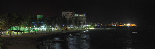San Andres de noche - Panoramica