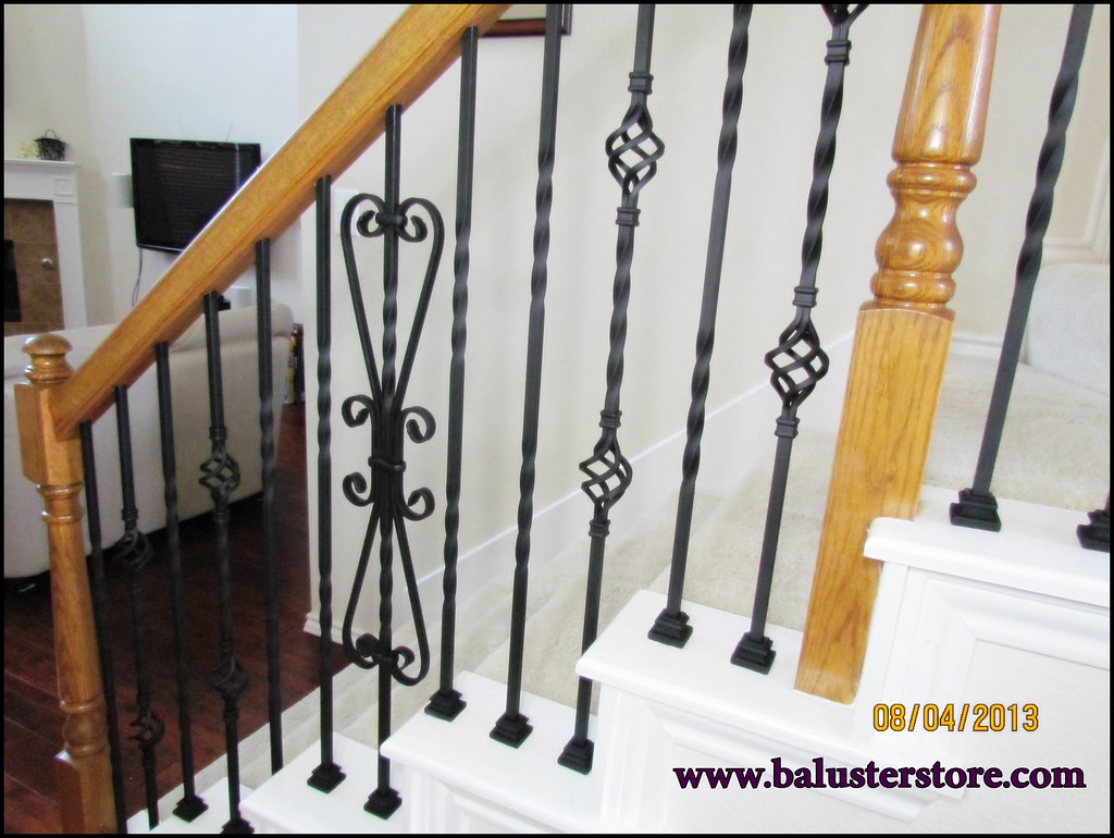 Home makeover stair balusters Tags building home metal stairs for iron stair parts