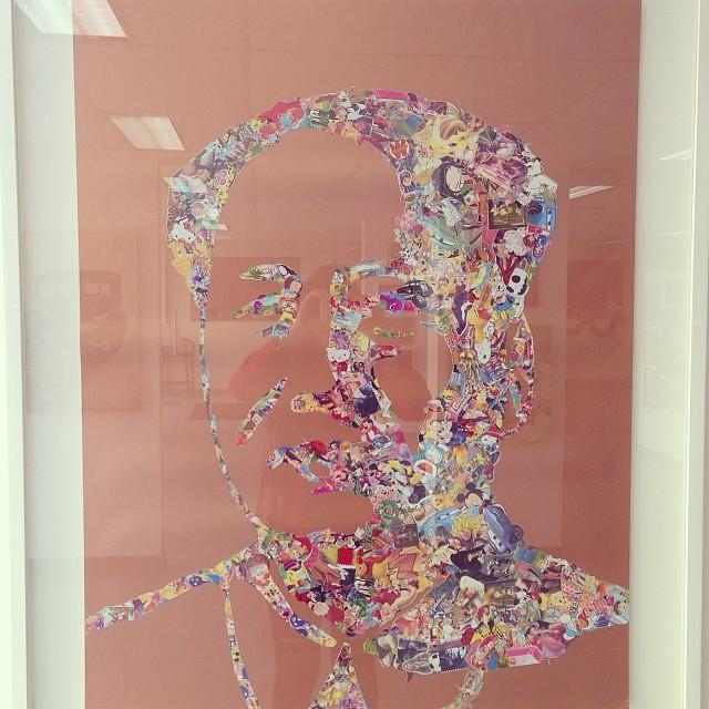 """Mao"" de Jaime Higa $700 • Bazarte #bazarte #arteenlima #artinlima #arte #art #artist #artista #pintura #painting"